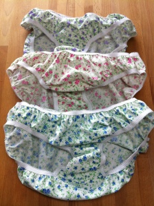 Tiny flower knickers