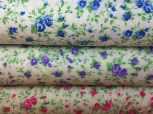 Tiny floral fabric