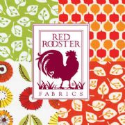 Red Rooster Fabric