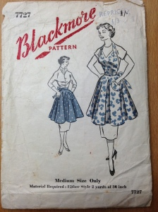 Retro '50's Apron pattern