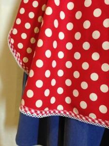 Retro '50's spotty apron