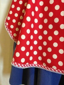 Retro '50's spotty apron