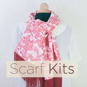 scarf kits from TrixieLixie