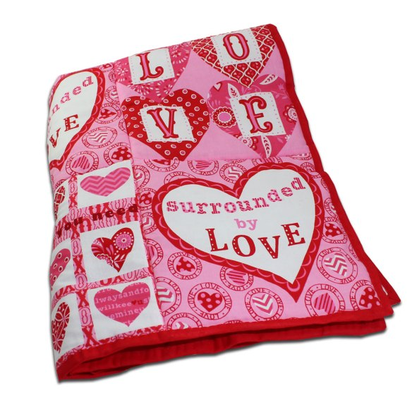 Surrounde by Love Quilt