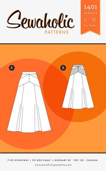 gabriola skirt pattern