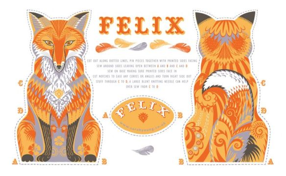 Felix tea towel kit