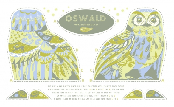 oswald tea towel kit
