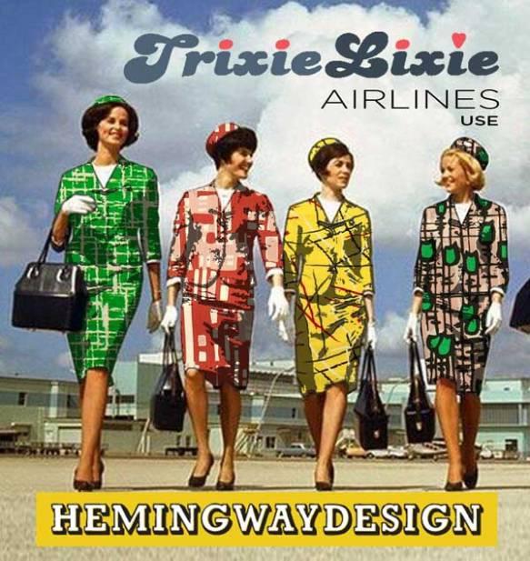TrixieLixie Hemmingway fabric