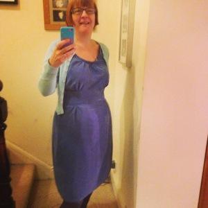 #sewingselfie Dahlia dress