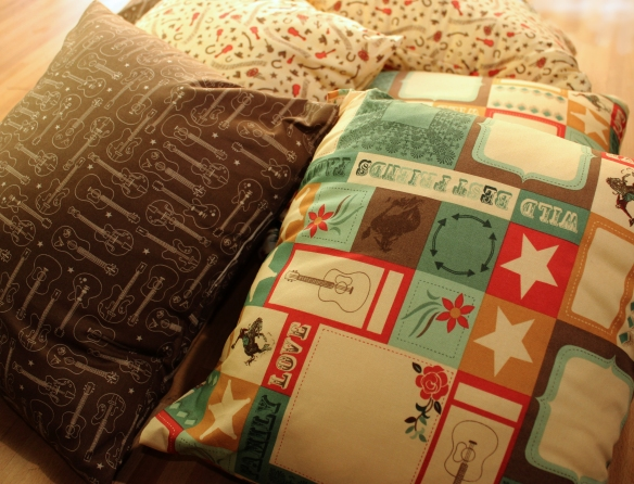 cowboy pillows side