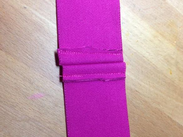 Lush Pink Elastic